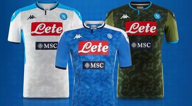 """Il """"peso"""" della maglia nel calcio: quanto vale quella del Napoli"""