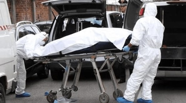 cadavere donna