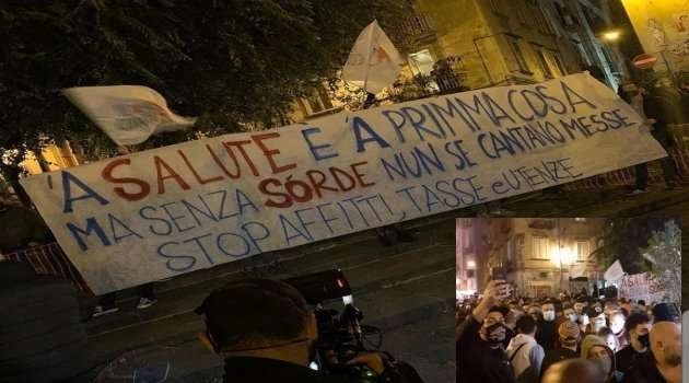 """De Luca da Fazio: """"Venerdì notte in piazza pezzi di camorra"""""""