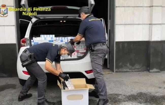 """Marano – Cronaca. Sequestrati 246 kg di sigarette """"Regina"""""""