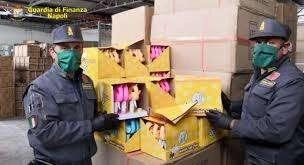 Cronaca, Nola: sequestrato capannone con all'interno materiale contraffatto