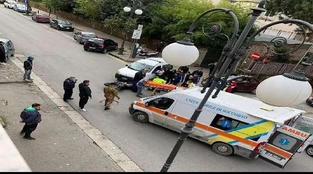 Ultim'ora a Qualiano: incidente motociclistico