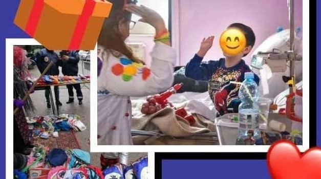 Melito non dimentica chi soffre: Befana per i bambini del Santobono
