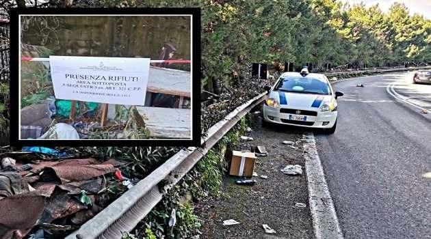 Arzano, cronaca Asse viario invaso da rifiuti abbandonati