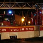 Napoli, cronaca Impianto di torrefazione in fiamme a Giugliano