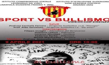 Arzano. Arzano-Benevento i giocatori scendono in campo contro il bullismo