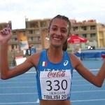 Nadia Battocletti detentrice nel nuovo Record U23