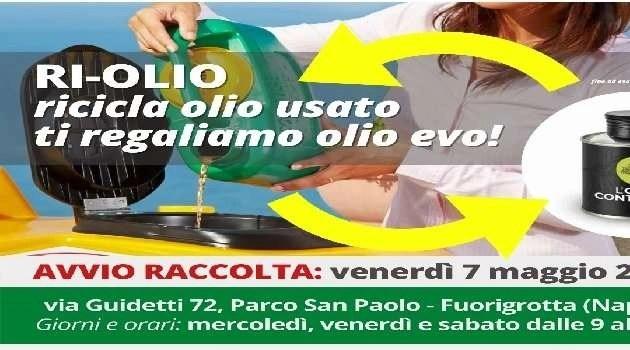 Napoli, cronaca Al via domani l'iniziativa Ri-Olio Campania