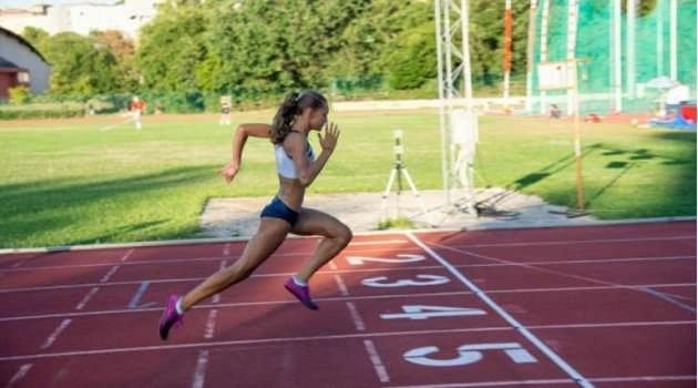 Alice Pagliarini eguaglia il record italiano Cadette sugli 80mt