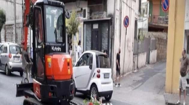 Napoli, cronaca. Nuova voragine a Qualiano