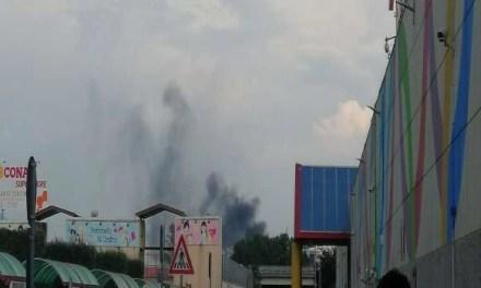 Cronaca. Maxi incendio nei pressi di Mugnano