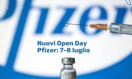 Napoli, cronaca. Nuovi Open Day Pfizer