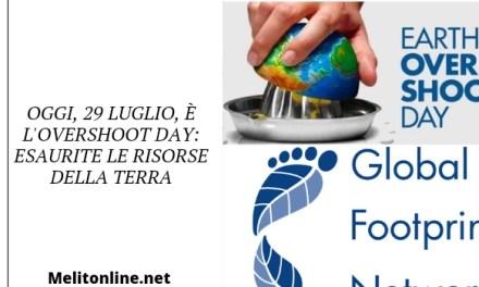 Oggi, 29 luglio è l'Overshoot Day: esaurite le risorse della Terra