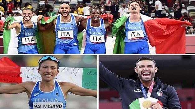 Olimpiadi Tokyo2020: un'Italia da Record!