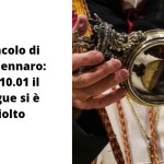 Miracolo di San Gennaro: alle 10.01 il sangue si è sciolto