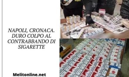 Napoli, cronaca. Duro colpo al contrabbando di sigarette