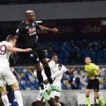 Osimhen porta il Napoli sull'ottovolante: azzurri che restano primi, +2 sul Milan e +7 sull'Inter