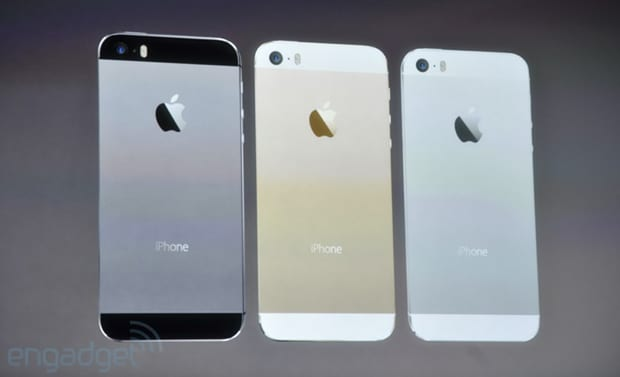 Cores do Iphone 5S