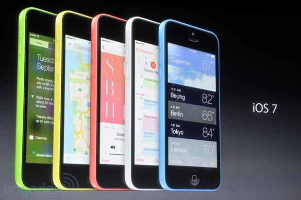iPhone 5C - iPhones coloridos