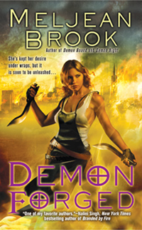 Cover of Demon Forged by Meljean Brook