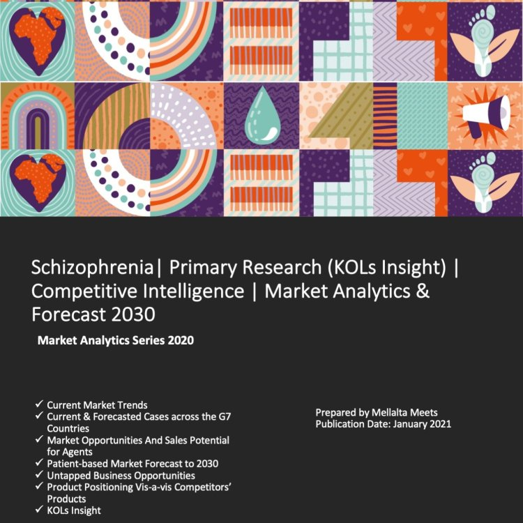Schizophrenia Primary Research^J (KOL's Insight)^J Competitive Intelligence^J Market Analytics ^0 Forecast 2030 - Mellalta Meets