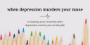 writing and depression, writing through depression