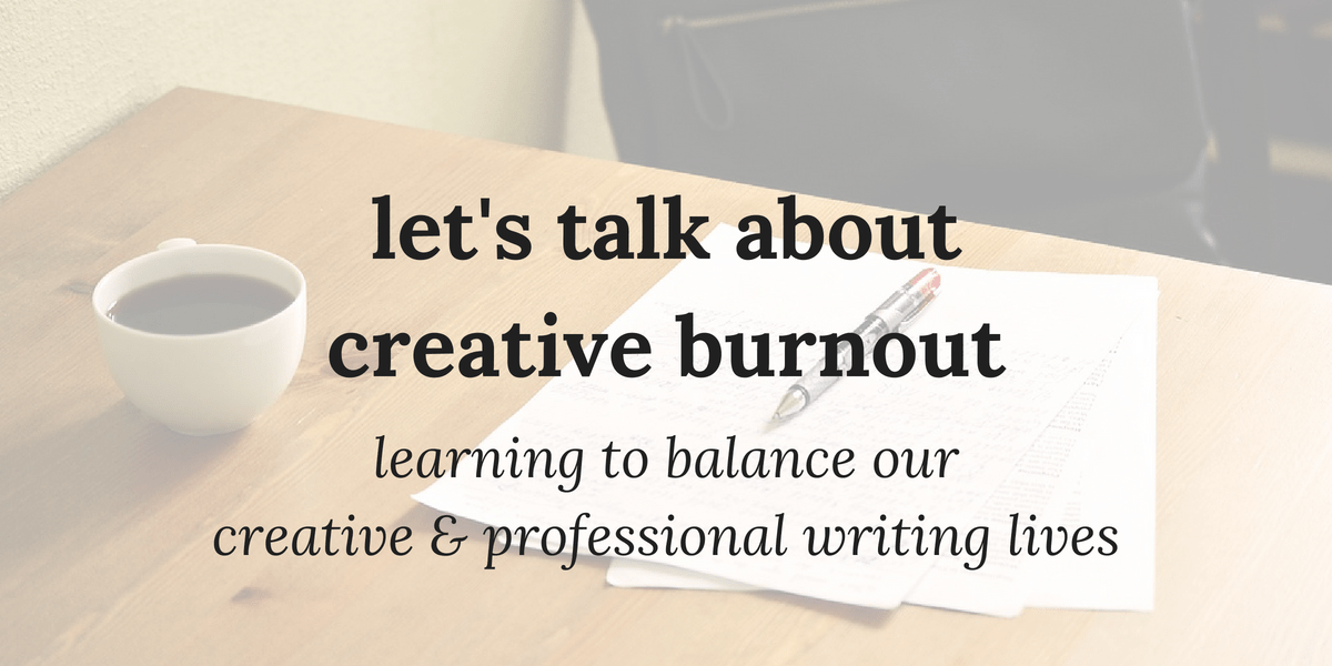 let's talk about creative burnout