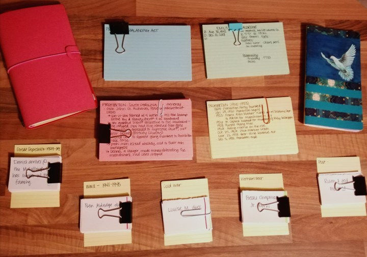 How to create a writer's notebook for NaNoWriMo