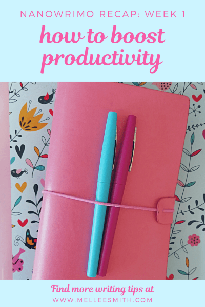 how to boost your productivity during nanowrimo