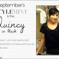 September Stylemint – Quincy Tee