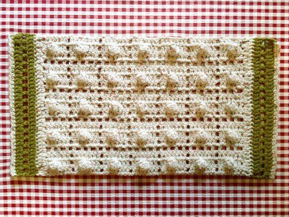 Crochet Kitchen Towels 5