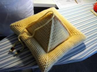 Crochet Gifts for Men - Book Pillow