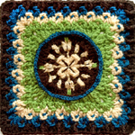 Crochet Pretty Fancy Square