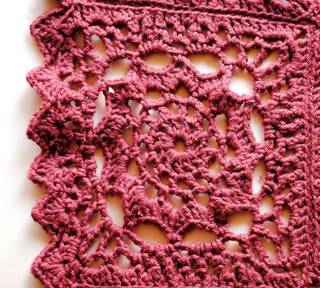 Crochet Rose Afghan