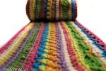Crochet Stripe Blanket