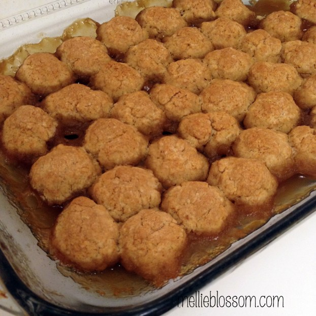 Brown Sugar Dumplings with Vanilla Cream