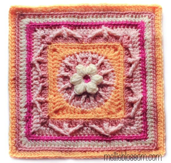 Pink Crochet Swap Squares