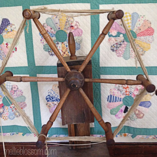 Clock Reel - used for measuring out hanks of yarn - mellieblossom.com