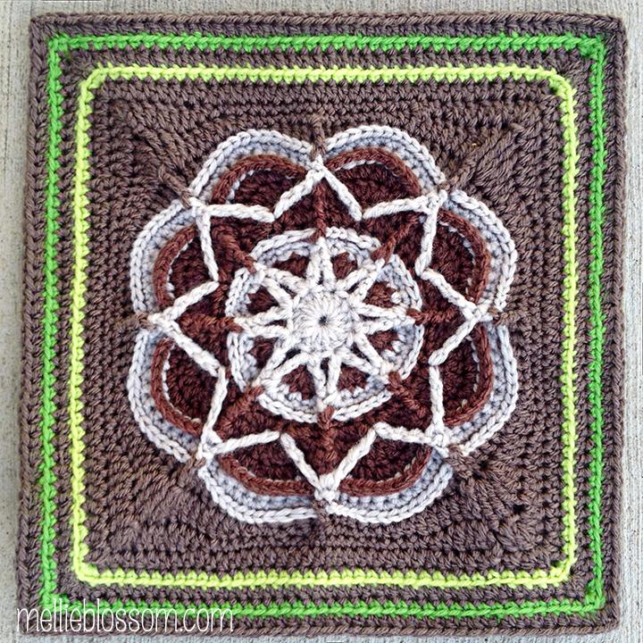 Crochet Swap Squares in Progress