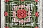 Beautiful Crochet Squares - Hayton Square
