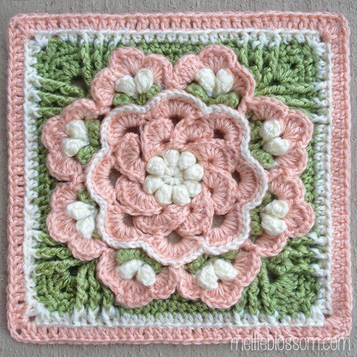 Beautiful Crochet Squares - Tropical Delight
