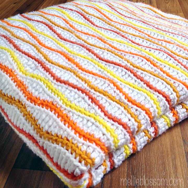 Crochet Birthday Blanket - mellieblossom.com
