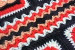 2016 Crochet Along Squares - Lest We Forget Crochet Square: Detail - mellieblossom.com