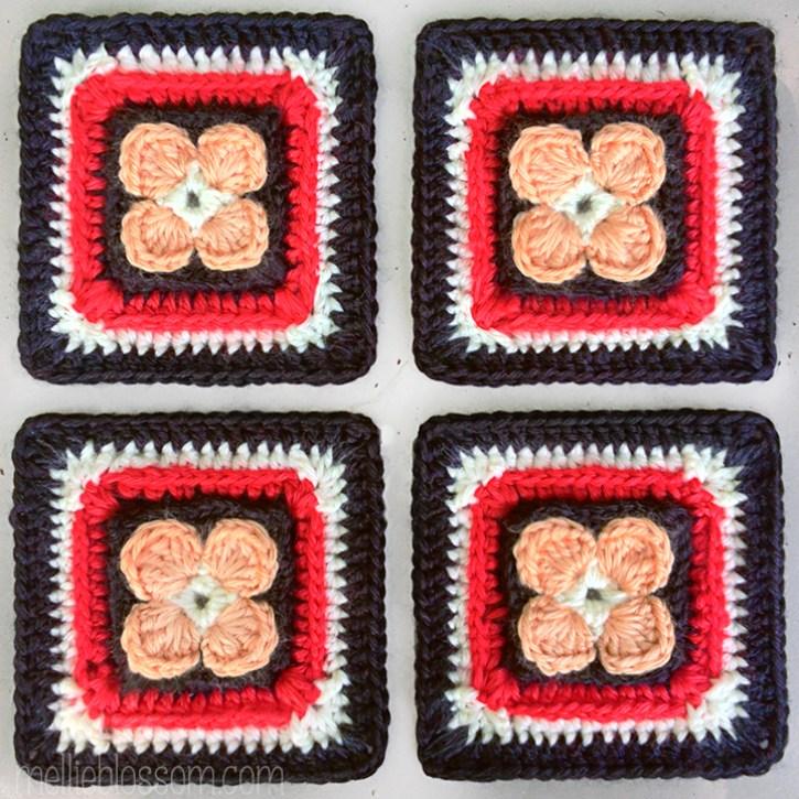 2016 Crochet Along Squares - Lest We Forget Crochet Square - mellieblossom.com