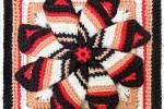 2016 Crochet Along Squares - Pinwheel Crochet Square - mellieblossom.com