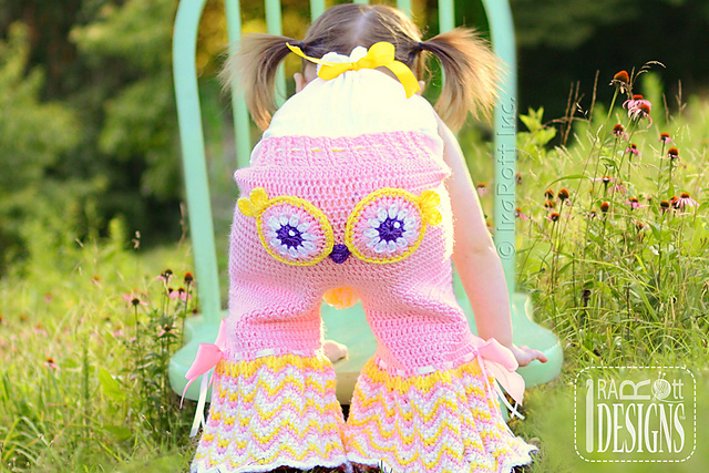 Recent Crochet Pattern Purchases - Fiesta Owl Pants - mellieblossom.com