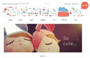 Kottbullar and Mjolk Concept Store infantil
