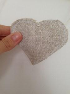 corazón movil rustico