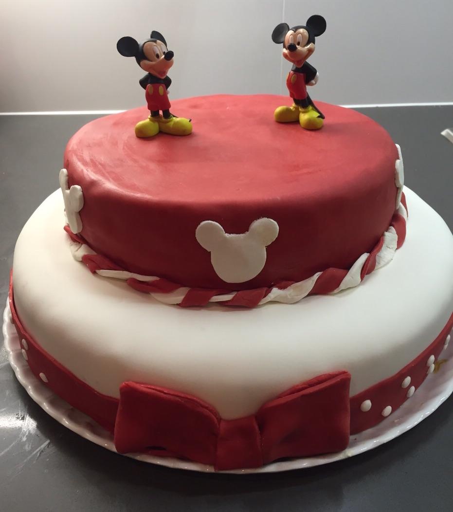 Pastel mickey mouse de cumplea os mellimama - Como cazar un raton en un piso ...