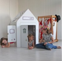 casa movil de cartón